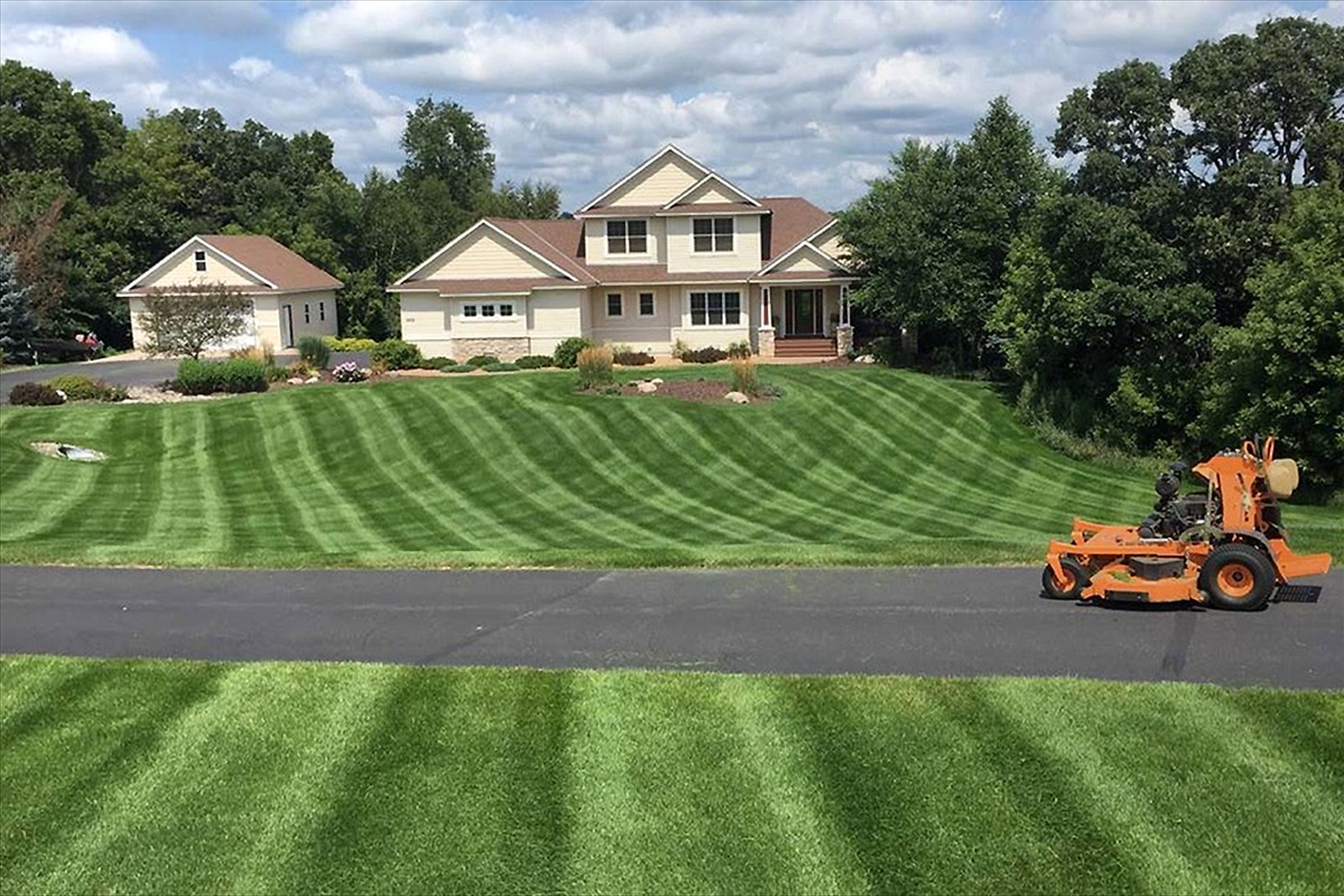 Providing Landscaping and Maintenance
