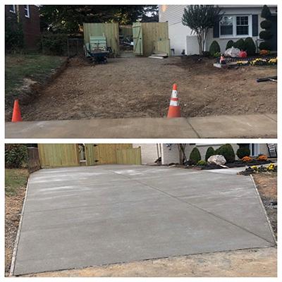 Concrete Work Concrete Driveway