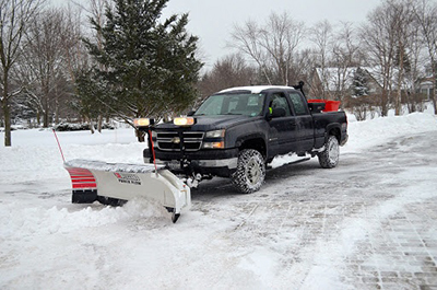 Snow Removal Driveway Plowing