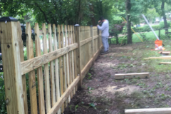 Picket Fence Installation