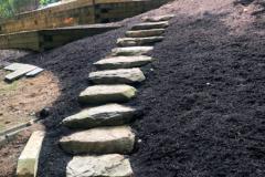 Stone Stair Walkway