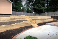 Tiered Landscape Wall